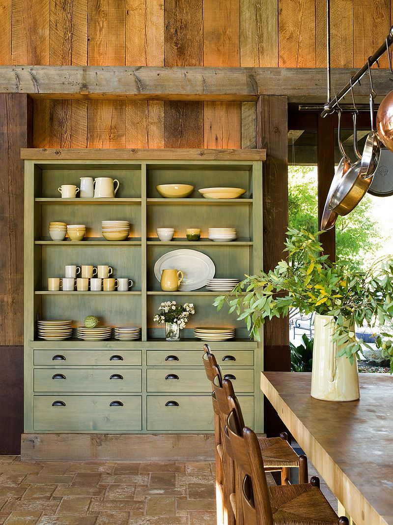 Nice ... Turn That Classic Hutch Into The Showstopper Of The Dining Room  [Design: Rizzoli New