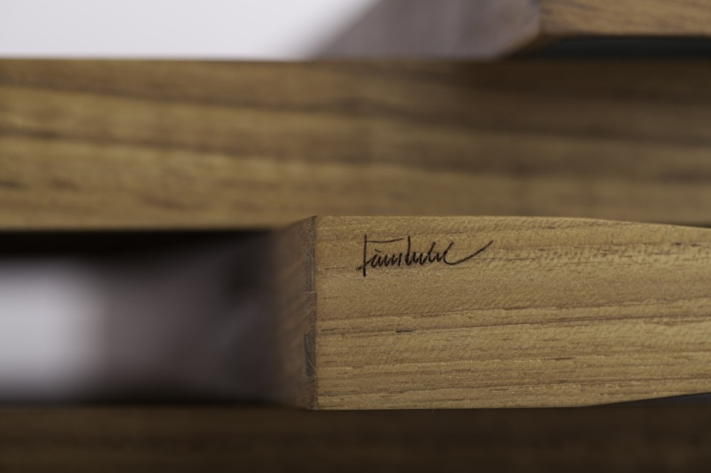 Turning Tray Finn Juhl signature