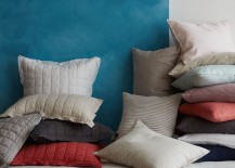 Two-toned wall in a photo from West Elm