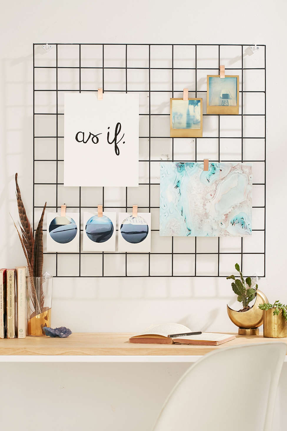 wall grid organizer diy cubicle organization 3311