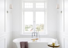 White-bathroom-with-subway-tile-and-marble-tile-217x155
