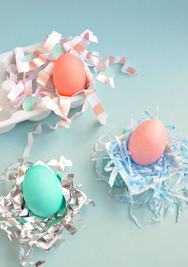 3 Easter egg nesting ideas from Oh Happy Day