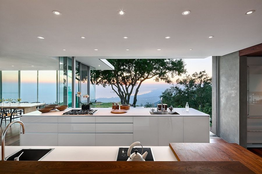 Visual treat 20 captivating kitchens with an ocean view - Cucine con vetrate ...