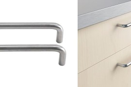 Affordable stainless steel handles from IKEA