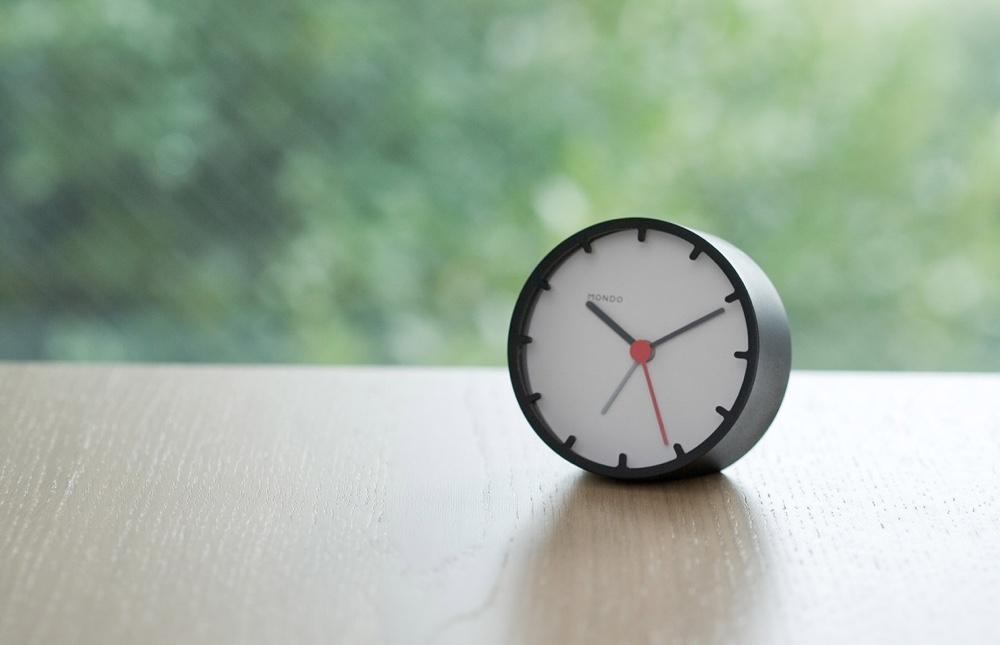 Alarm Clock in black