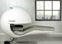 An EnergyPod awaits its next napper