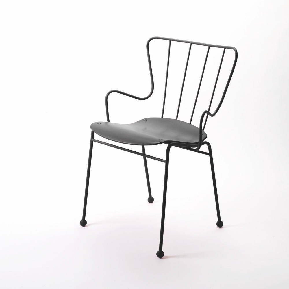 Antelope Chair in black