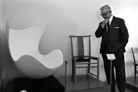Arne Jacobsen and the Egg chair shell