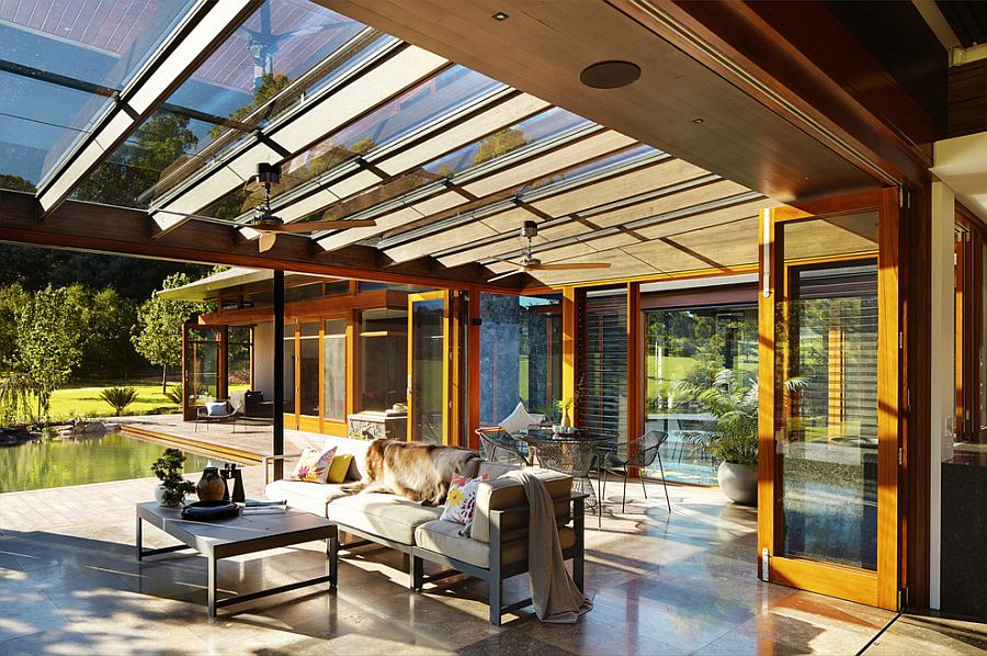 Oriental Inspiration Asian Style Sunrooms Bring Light