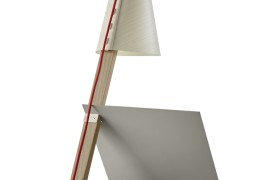 Asterisco table lamp rear view