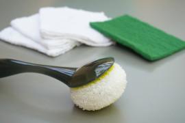 Bathtub scrubber