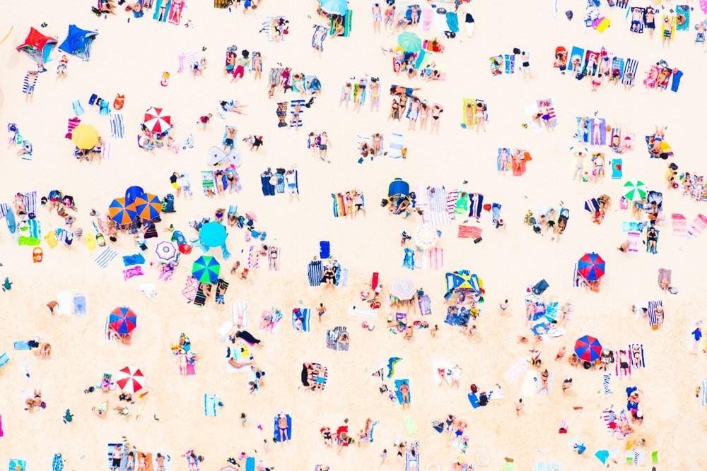 Beach photography by Gray Malin