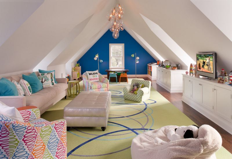 Beautifully designed family room Designing Your Home with Kids in Mind