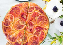 Blood orange upside down cake from Camille Styles