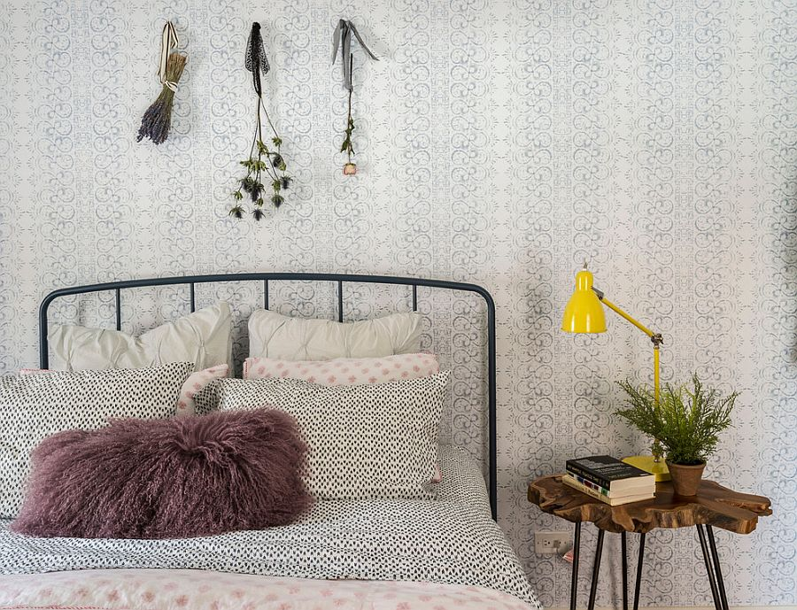 Bohemian style turns the bedroom into a relaxing retreat [Design: LABLstudio]