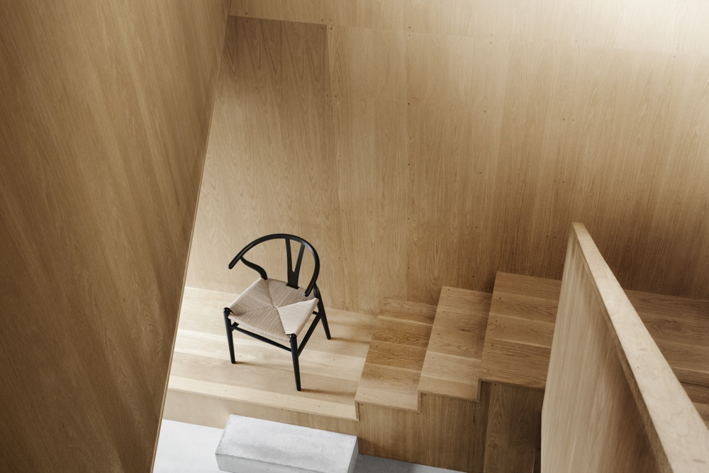 The CH24 Wishbone Chair.