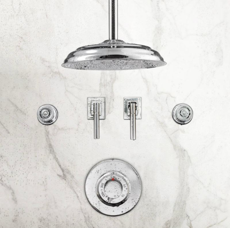 View In Gallery Ceiling Mount Shower Head From RH Modern
