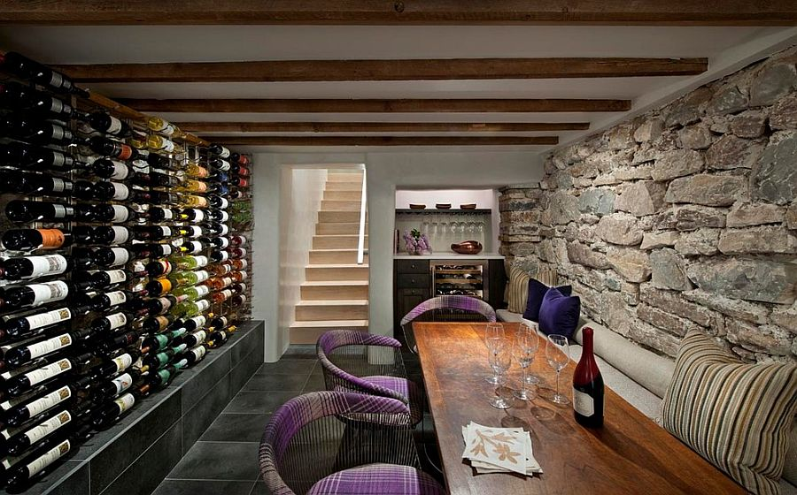 Connoisseur 39 s delight 20 tasting room ideas to complete - Decoracion bodegas caseras ...