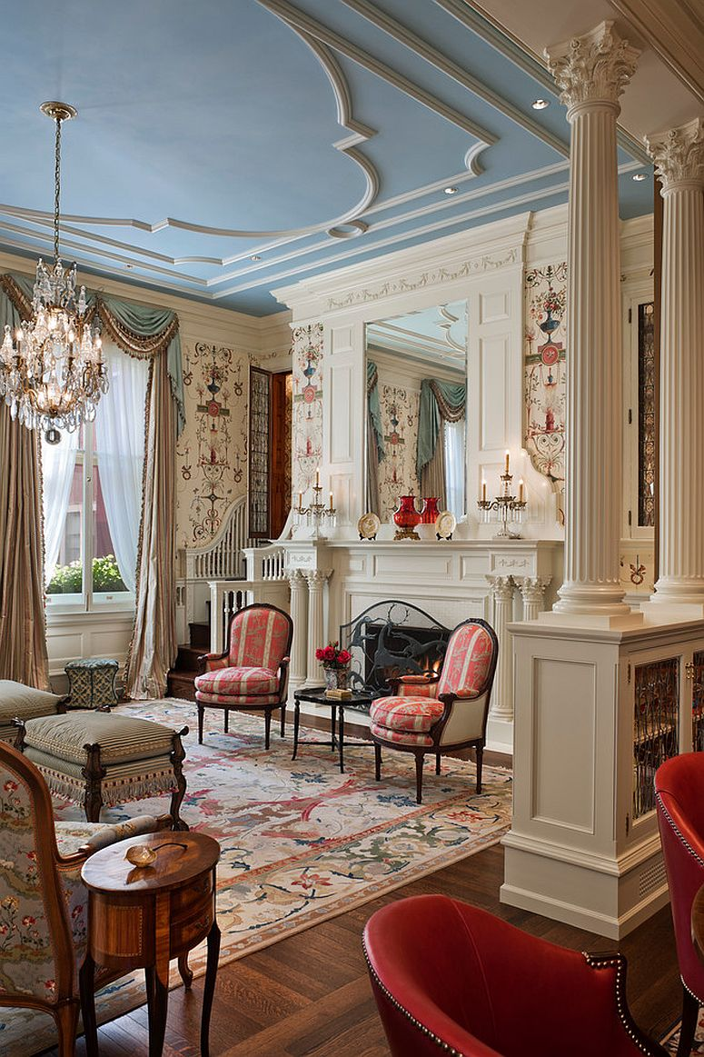Mansion Drawing Room: Feast For The Senses: 25 Vivacious Victorian Living Rooms