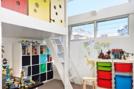 Child's room with ample storage