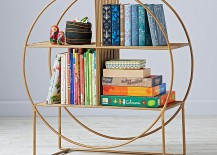Circular bookcase from The Land of Nod