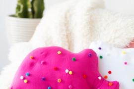Circus animal cookie pillows from Studio DIY