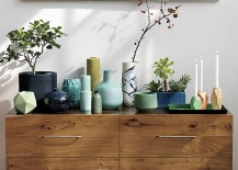 Collection of vases from CB2 217x155 10 Ways to Be More Creative at Home