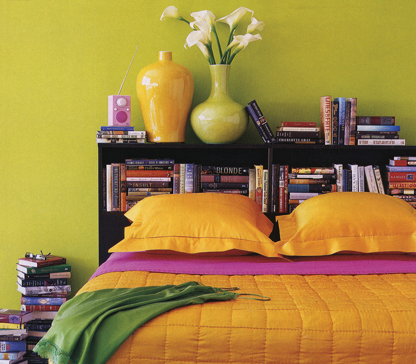 Colorful organic bedding from Anna Sova Home