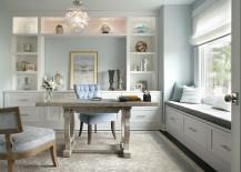 Comfy-modern-desk-chair-in-velvety-blue-217x155