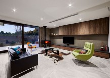 Contemporary and refined living area of renovated Caulfield home 217x155 An Entrance to Behold: 1970s Home Acquires a Modern Minimal Sheen