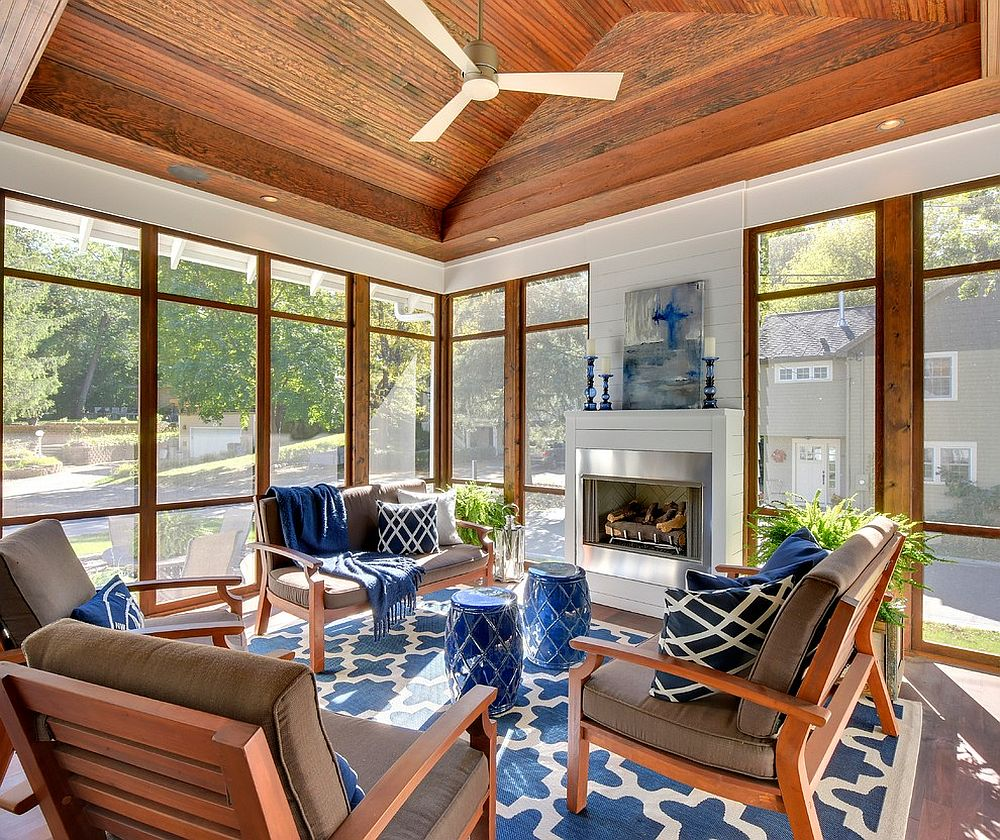 25 cheerful and relaxing beach style sunrooms for Cool beach decor