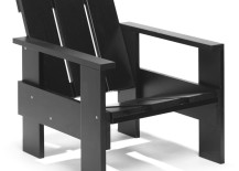 Crate chair black