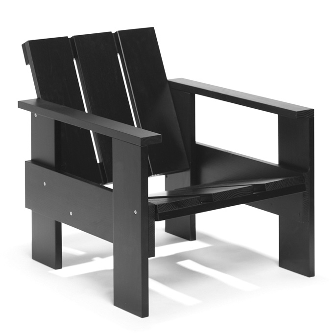 View In Gallery Crate Chair Black