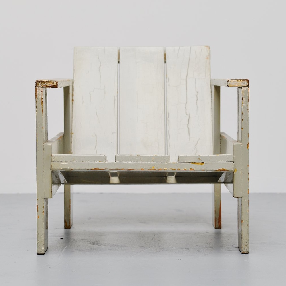 Crate chair for Metz and Co