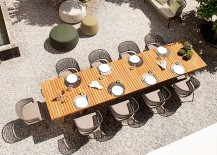 Create a fabulous outdoor dining space with trendy decor from Tribu