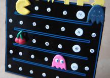 DIY Pac Man calendar