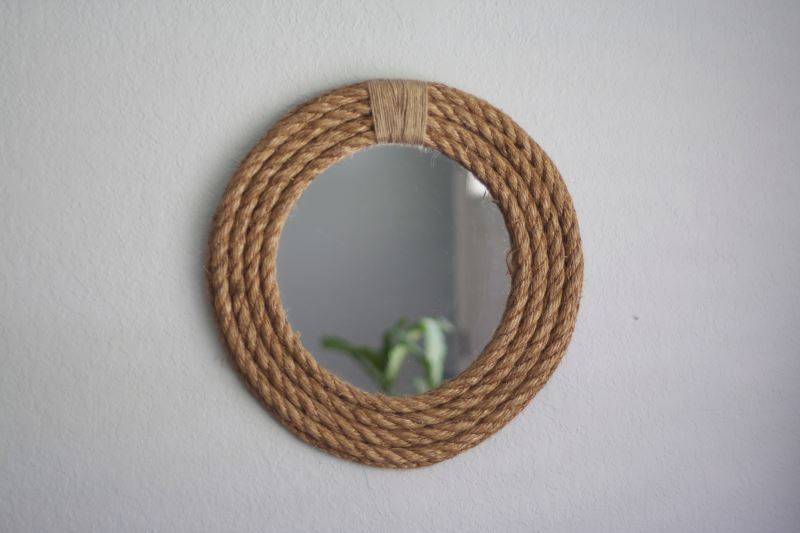 DIY Rope Mirror from Modern Day Moms