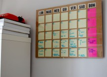 DIY calendar from Celestefrittata
