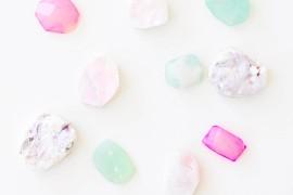 DIY gem magnets from Proper