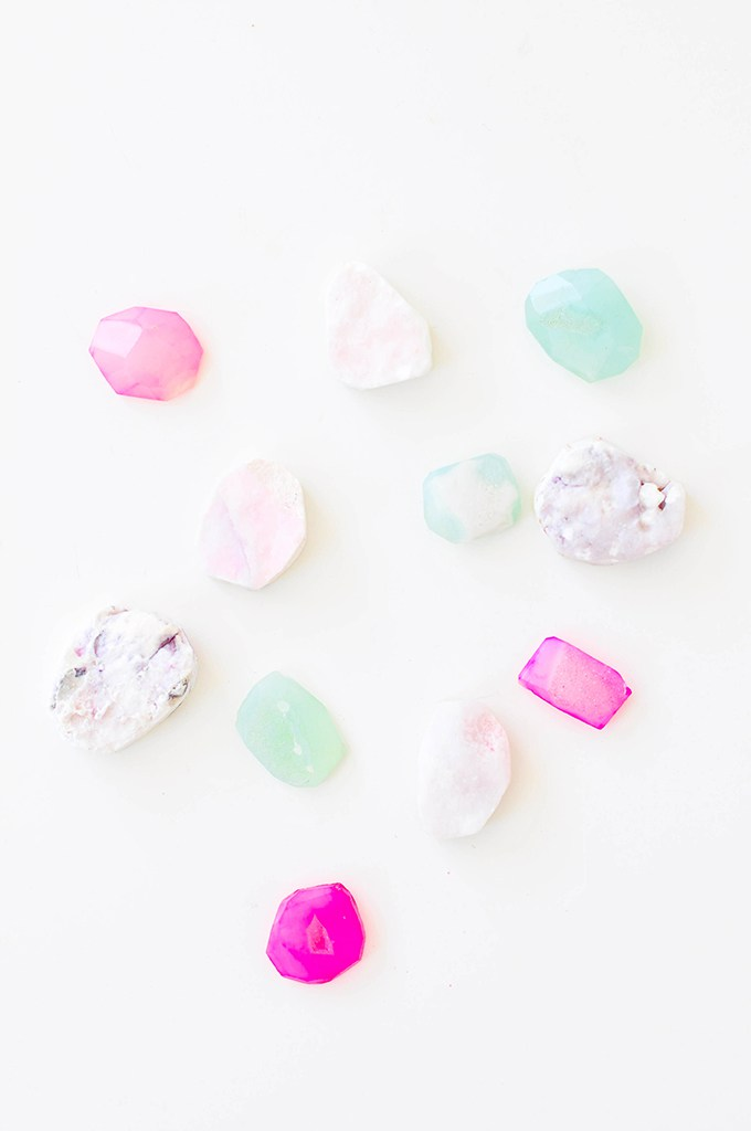 DIY gem magnets from Proper