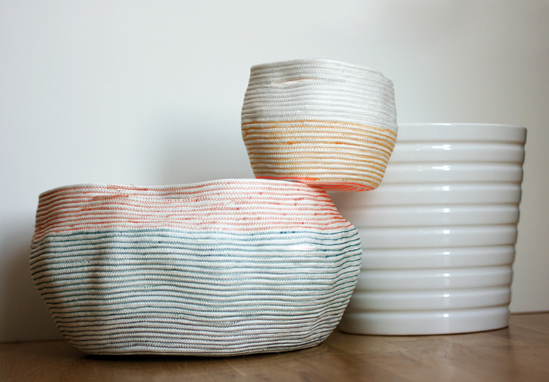 DIY rope baskets from whollyKao