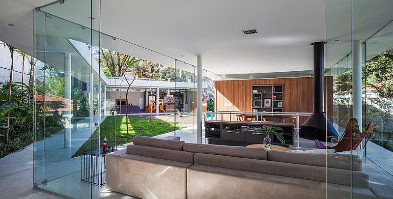 Design of the home allows you to enjoy a central family zone