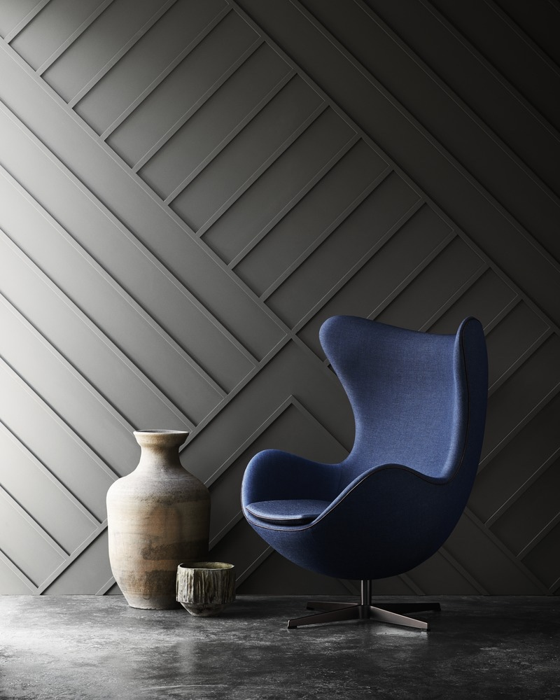Arne jacobsen egg chair leather - View In Gallery Egg In Blue