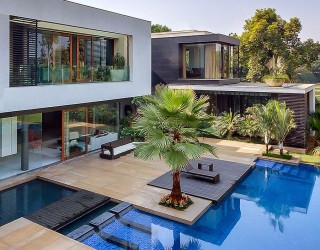 Tranquil Opulence: Lavish Home in New Delhi Puts Nature Center Stage
