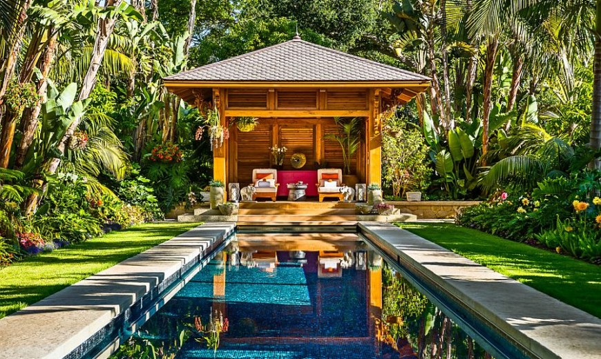 - 25 Spectacular Tropical Pool Landscaping Ideas
