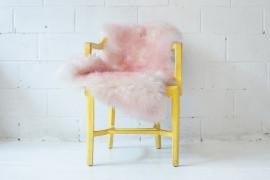 Flamingo Sheepskin from Aelfie