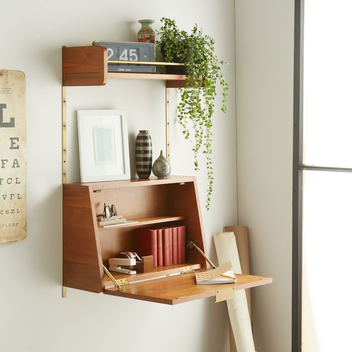 View In Gallery Fold Down Desk From West Elm