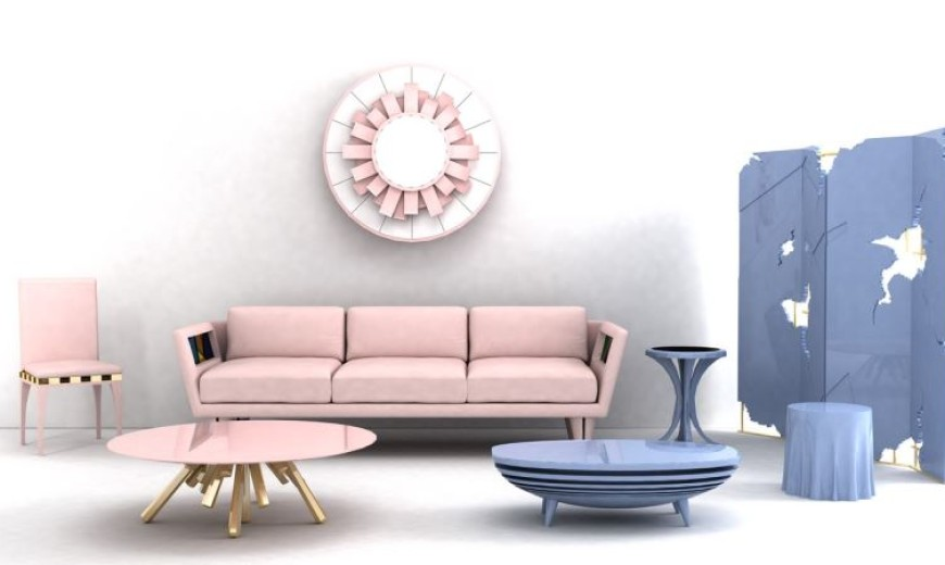 Pantone Style: More Rose Quartz and Serenity Decor Ideas