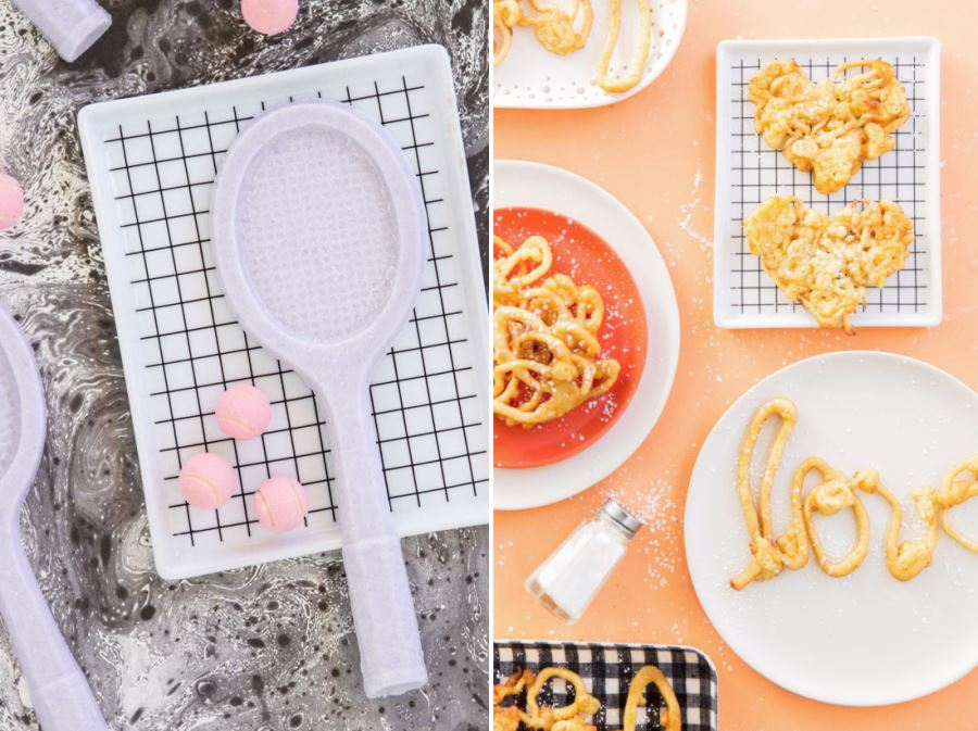 Grid trays in project styling from Paper & Stitch