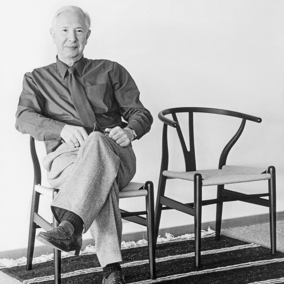 Hans J Wegner on his Wishbone Chair